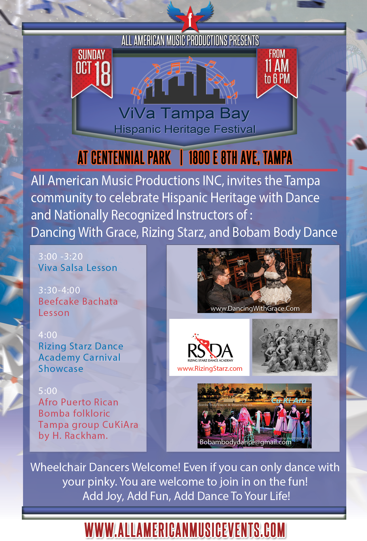 ViVa-Dance-Schedule-Flyer